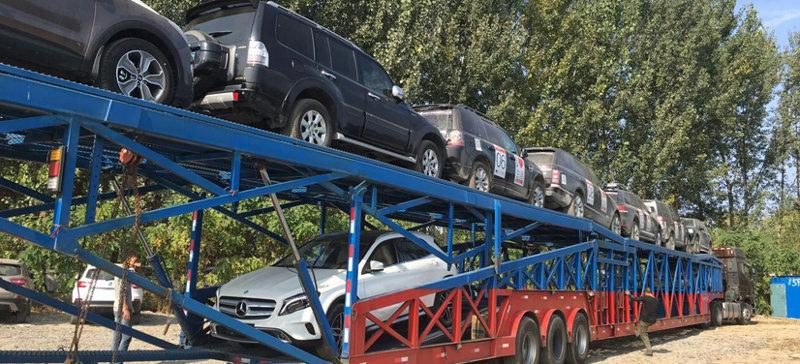 西安到银川托运轿车图片